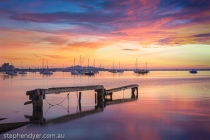 Harbour;Merlo;boats;bridge;buildings;calm;city;climate;craft;destination;early;e